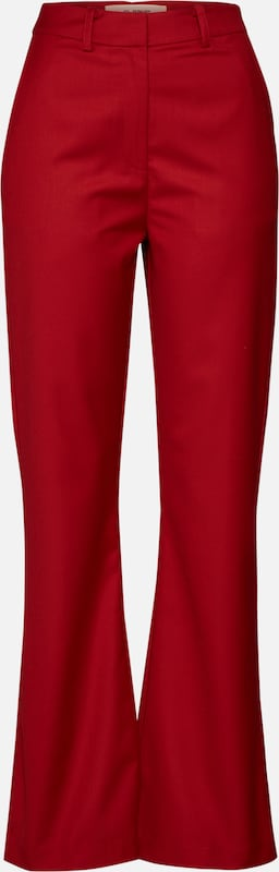 4th & Reckless Hose 'SHANGHAI TROUSER' in rot, Produktansicht
