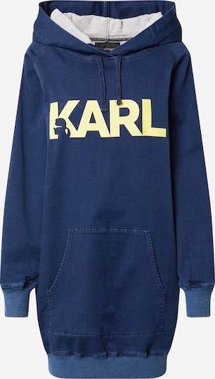Karl Lagerfeld Denim Sweatshirt 'KLWD0007' in navy, Produktansicht