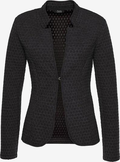 VIVANCE Blazer 'Aniston' in schwarzmeliert, Produktansicht