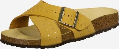 BIRKENSTOCK Pantolette in gelb, Produktansicht