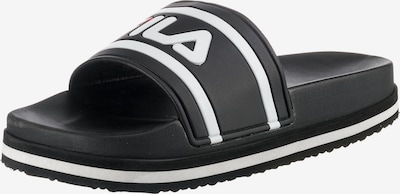 fekete / fehér FILA Strandcipő, Termék nézet