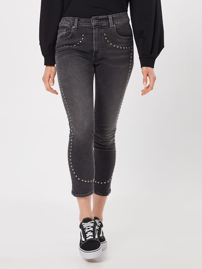 Levi's Made & Crafted Jeans 'LMC The Cigarette' in de kleur Grey denim, Modelweergave