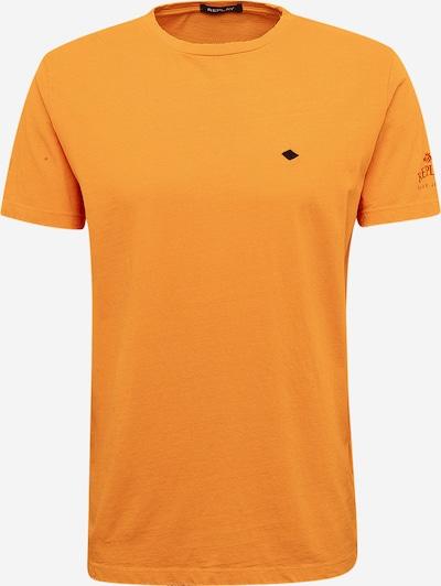 REPLAY T-Shirt in gelb, Produktansicht