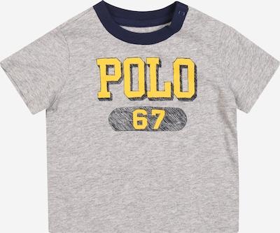 POLO RALPH LAUREN Shirt in blau / gelb / graumeliert, Produktansicht