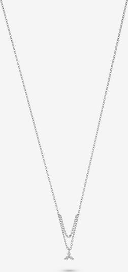 CHRIST Kette '87492656' in silber / weiß, Produktansicht