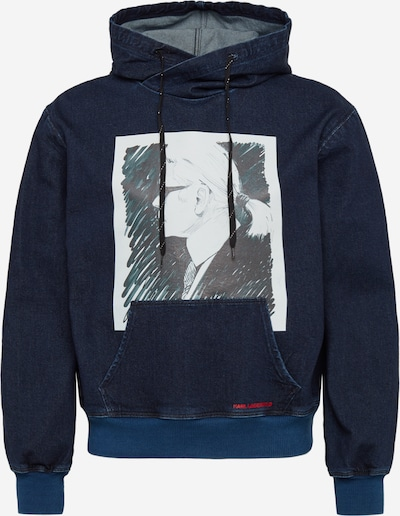 Karl Lagerfeld Denim Sweatshirt 'KLMJ0012' in blue denim, Produktansicht