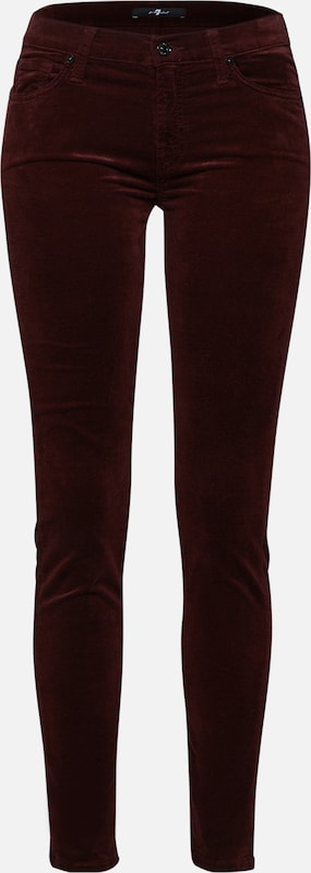 7 For Mankind All En Pantalon Skinny' 'the Bordeaux n0mNvOywP8