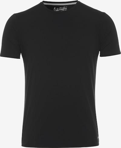 PURE T-Shirt in schwarz, Produktansicht