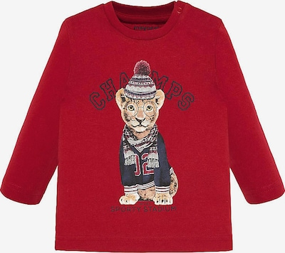 Mayoral Shirt in rot, Produktansicht