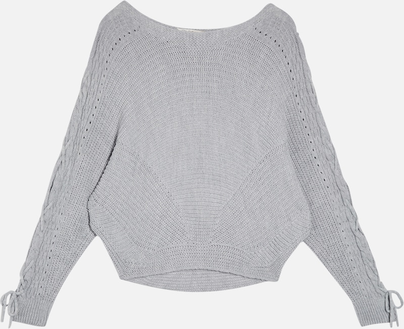 Miss Selfridge Pullover in grau: Frontalansicht
