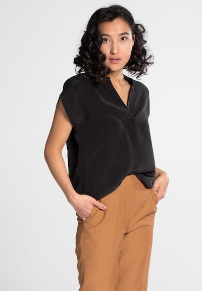 ETERNA Bluse '1863' in schwarz, Modelansicht