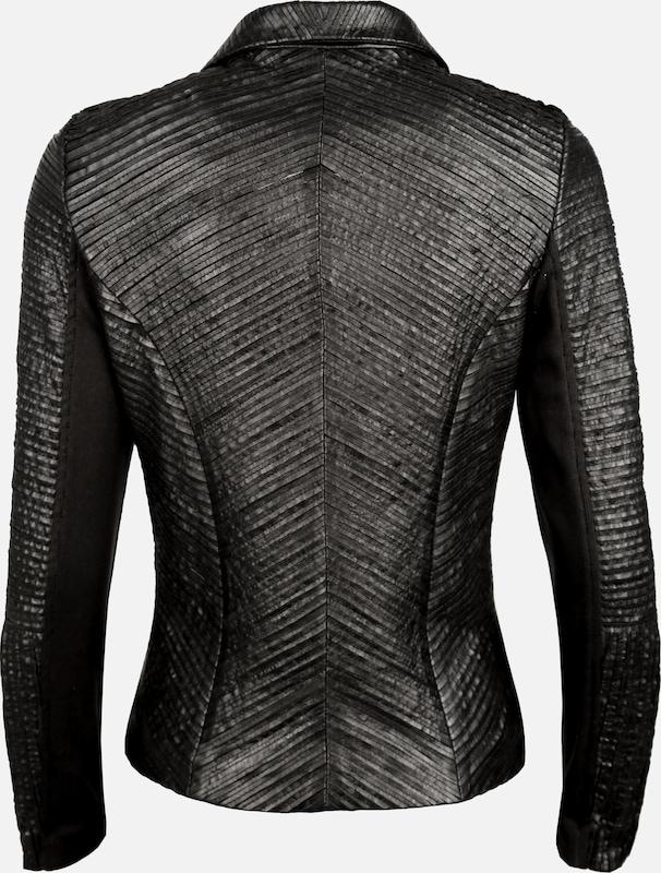 Maze Leather Blazer Made Of Leather Strips Free