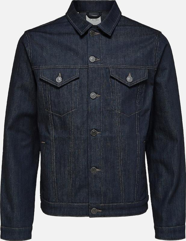 SELECTED HOMME Jacke in Blau denim  Neue Kleidung in dieser Saison