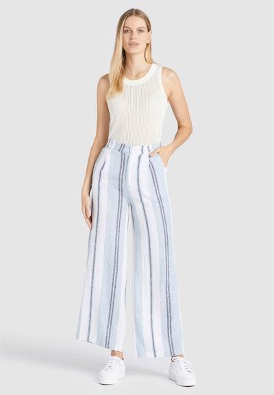 khujo Hose ' MAHSALA ' in blau / weiß, Modelansicht