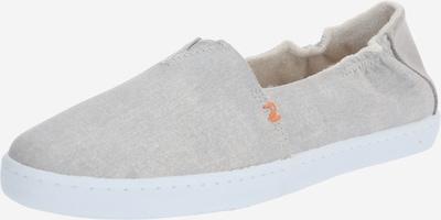 HUB Slipper 'Fuji' in hellgrau / weiß, Produktansicht