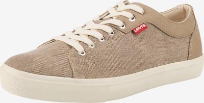 LEVI'S Woodward Sneakers Low in braun, Produktansicht