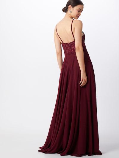 Vakarinė suknelė iš LUXUAR , spalva - vyšninė spalva: Vaizdas iš galinės pusės