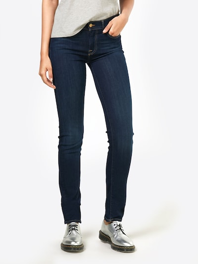7 for all mankind Jeans 'ROXANNE' in blue denim: Frontalansicht