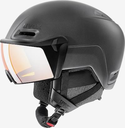 UVEX Visierhelm 'hlmt 700 visor' in schwarz, Produktansicht