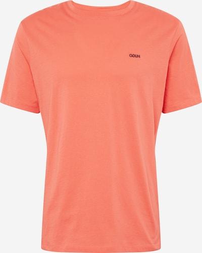 HUGO T-Shirt 'Dero 203' en orange, Vue avec produit