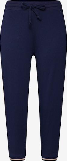 Mey Pantalon de pyjama 'NIGHT2DAY' en bleu nuit: Vue de face