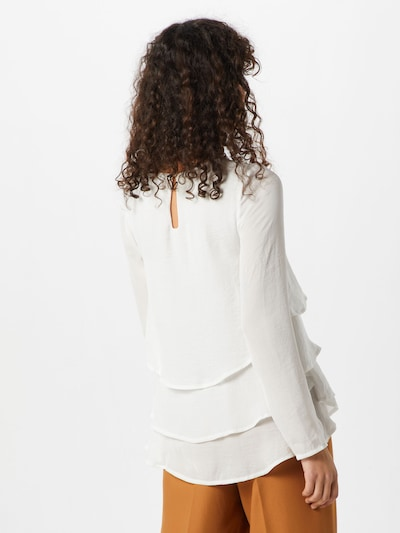 Missguided Shirt in weiß: Rückansicht