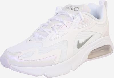 NIKE Chaussure de sport 'AIR MAX 200' en argent / blanc, Vue avec produit