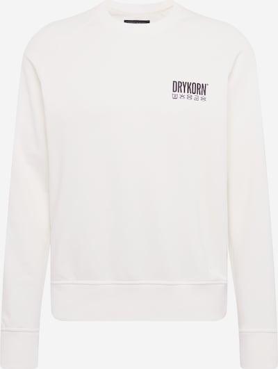DRYKORN Sweat-shirt 'FLORENZ_CODE' en blanc, Vue avec produit