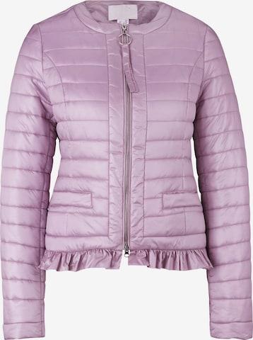 heine Between-Season Jacket in Purple