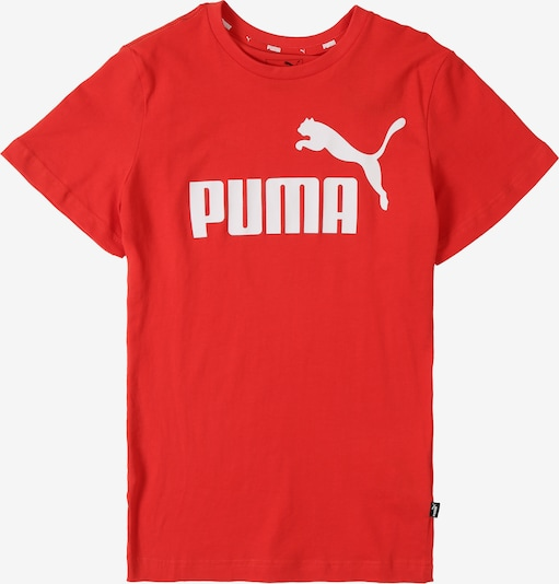 PUMA T-Shirt 'ESS' in rot: Frontalansicht