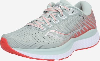 saucony Chaussure de course 'Guide 13' en gris / corail, Vue avec produit