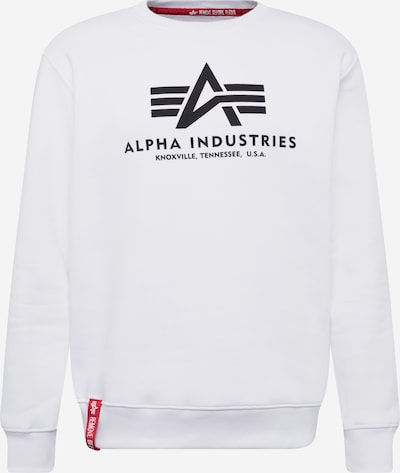 ALPHA INDUSTRIES Sweatshirt in weiß, Produktansicht