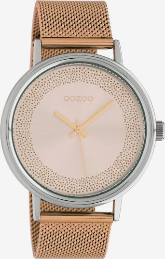 OOZOO Analoguhr 'C10627' in rosegold / silber, Produktansicht