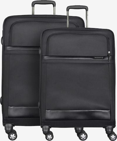 cocoono 4-Rollen Kofferset 2tlg. in schwarz, Produktansicht