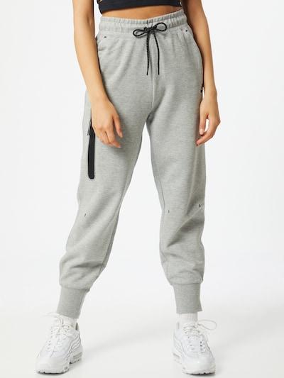 Nike Sportswear Sweathose in graumeliert / schwarz, Modelansicht