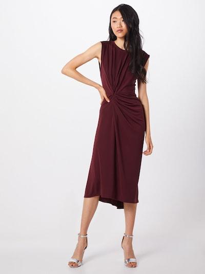 Banana Republic Kleid 'TWIST MATTE' in burgunder, Modelansicht