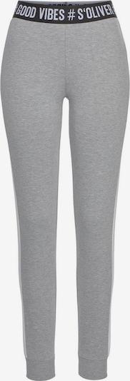s.Oliver Pyžamové nohavice - sivá melírovaná, Produkt