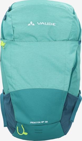 VAUDE Sportrugzak 'Prokyon' in de kleur Turquoise: Vooraanzicht