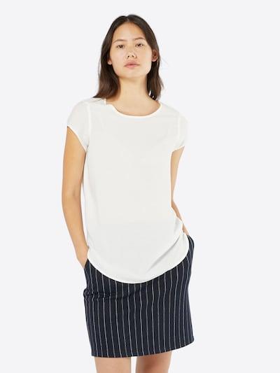 Bluză 'Boca' VERO MODA pe alb, Vizualizare model