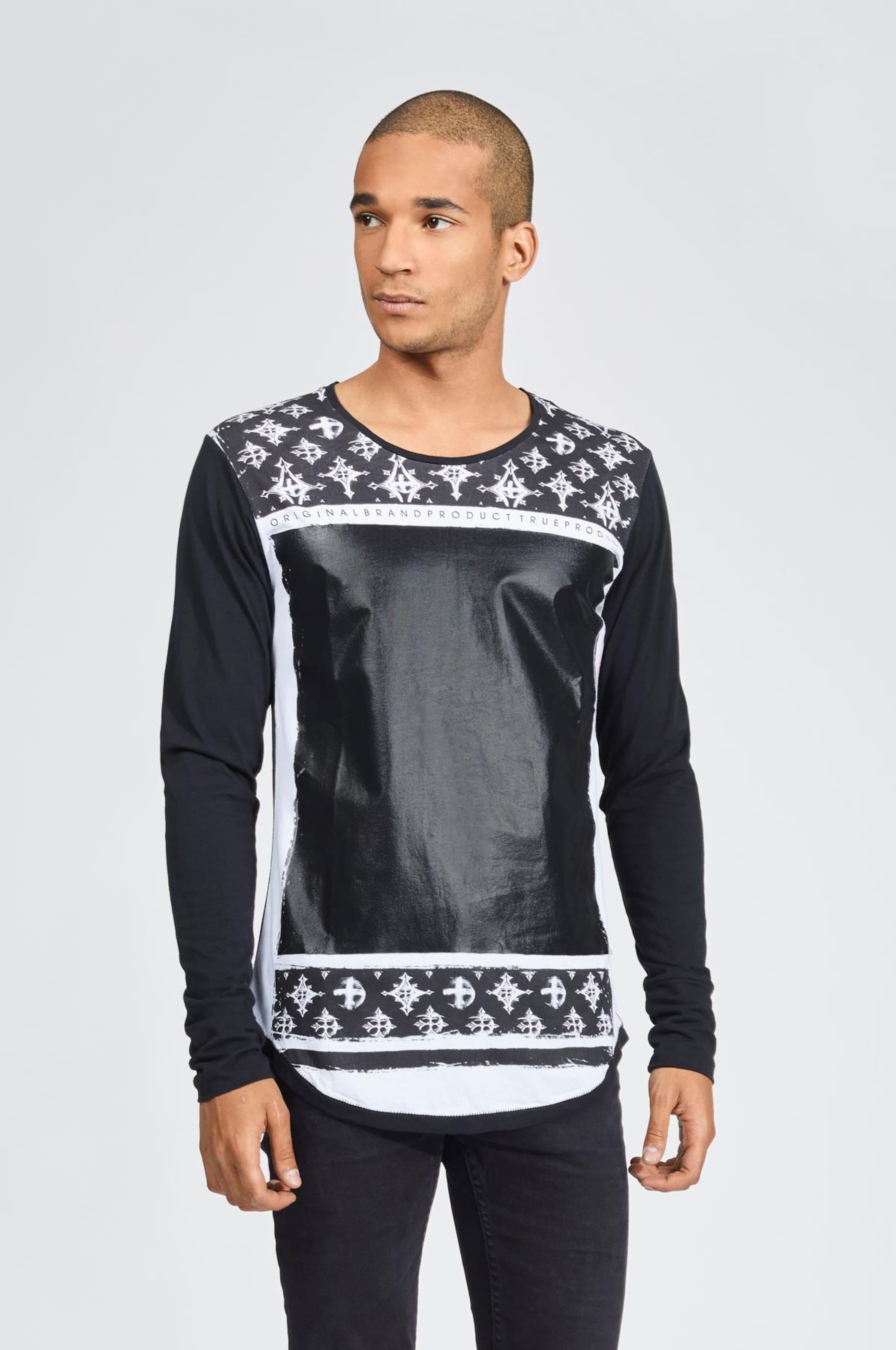 Shirt SchwarzWeiß 'crossesamp; In Trueprodigy Glace' WH9D2IE