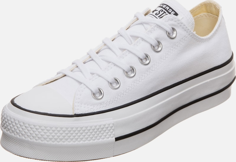 CONVERSE Sneaker 'Lift Ox' in weiß: Frontalansicht