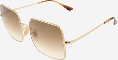 Ray-Ban Sonnenbrille 'SQUARE' in gold, Produktansicht