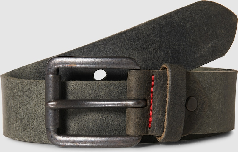 VANZETTI Ledergürtel im Vintage-Look