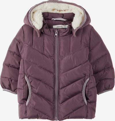 NAME IT Winterjas in de kleur Bessen, Productweergave