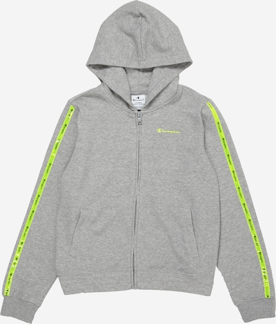 Champion Authentic Athletic Apparel Sweatjacke in graumeliert, Produktansicht