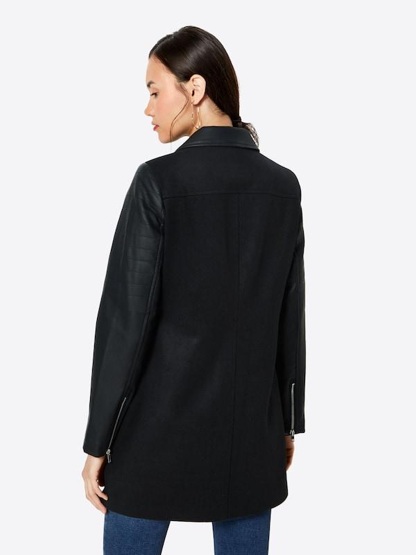 Manteau Mi saison Mi Manteau saison En Noir Nn0mwOv8