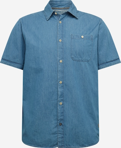JACK & JONES Hemd 'JORBO' in blue denim, Produktansicht
