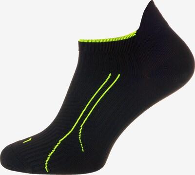 PUMA Sportsocken in neongrün / schwarz, Produktansicht