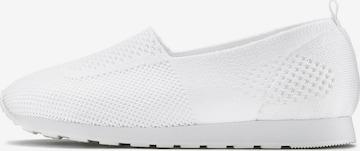LASCANA - Zapatillas sin cordones en blanco