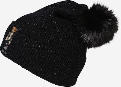 POLO RALPH LAUREN Bonnet 'Holiday' en noir / argent, Vue avec produit
